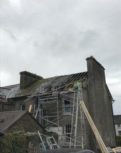 Before Slate Roof Repair
