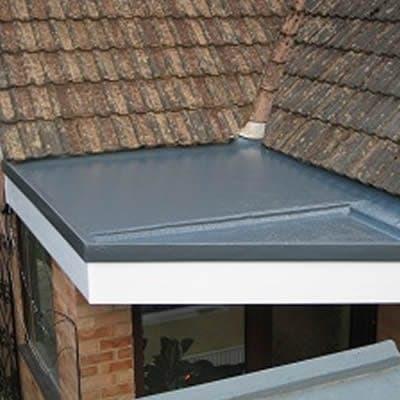 Fibre Glass Flat Roofs Repairs D12